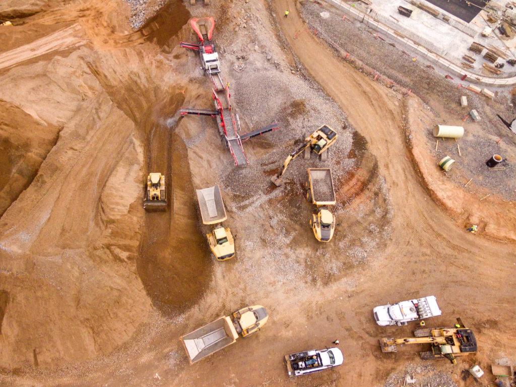 drones change construction
